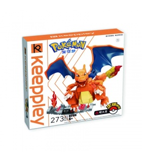 Keeppley Ppokemon B0108 Charizard Qman Building Blocks Toy Set