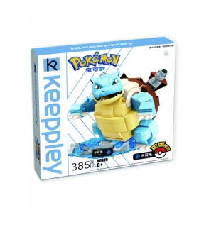 Keeppley Ppokemon B0109 Blastoise Qman Building Blocks Toy Set
