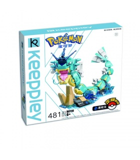 Keeppley Pokemon B0110 Gyarados Qman Building Blocks Toy Set