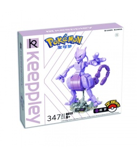 Keeppley Pokemon B0111 Mewtwo Qman Building Blocks Toy Set