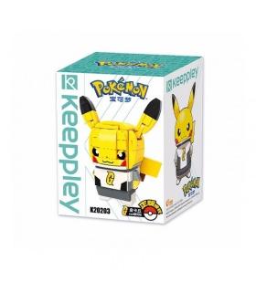 Keeppley Pokemon K20203 Pikachu COS Galaxy Qman Building Blocks Toy Set
