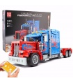 MOULD KING 15001 Peterbilt 389 Muscle Truck Optimus Prime Building Blocks Toy Set