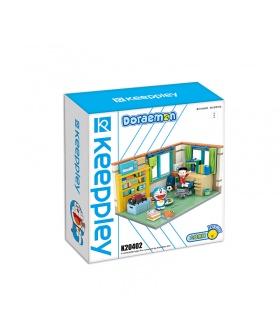 Keeppley K20402 Doraemon Nobita Nobi's Room QMAN Building Blocks Toy Set