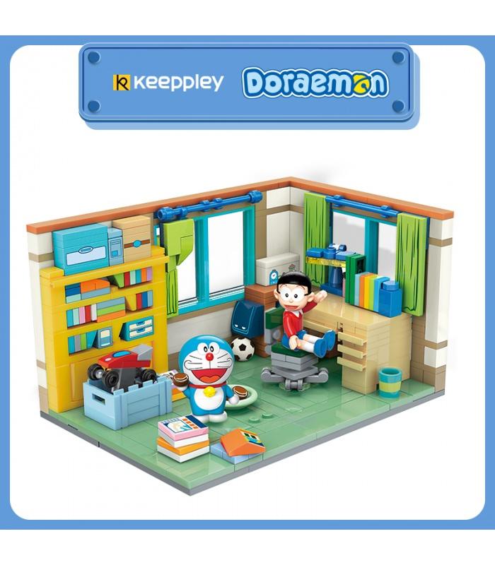 Keeppley K20402 Doraemon Nobita Nobi la Chambre de QMAN Blocs de Construction Jouets Jeu