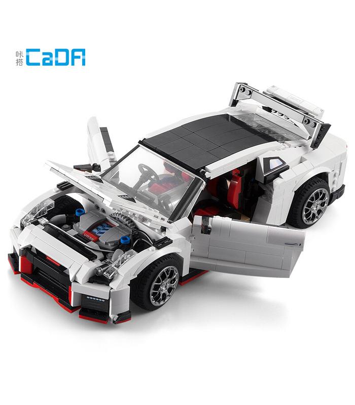 CaDA C61020W GTR R35 Racing Car Motor Edition Building Blocks Toy Set