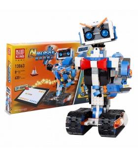 MOULD KING 13063 Aimubot Intelligent RC DIY Robot Building Blocks Toy Set