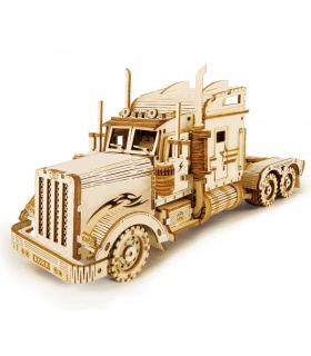 ROKR 3D Puzzle American Heavy Truck Wooden Building Toy Kit