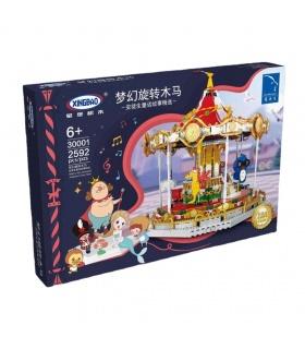 XINGBAO 30001 Rêve Carrousel Briques de Construction Jouet Jeu
