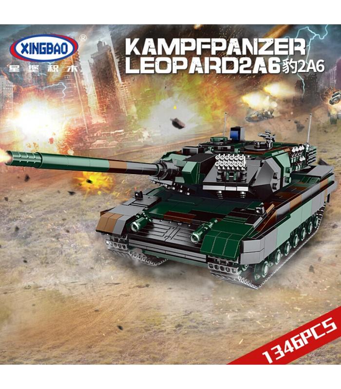 XINGBAO 06040 Kampfpanzer Leopard 2A6 Tank Building Bricks Toy Set