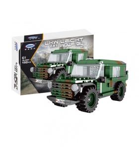 XINGBAO 06041 LKW Leicht Lobo GL Tanque de Ladrillos de Construcción Conjunto de Juguete