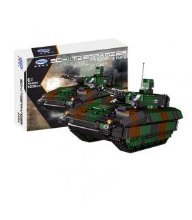 XINGBAO06042歩兵戦闘車両タンクの建物の煉瓦玩具セット
