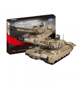 XINGBAO 06033 Challenger 2 Haupt-Kampfpanzer-Baustein-Spielzeugset