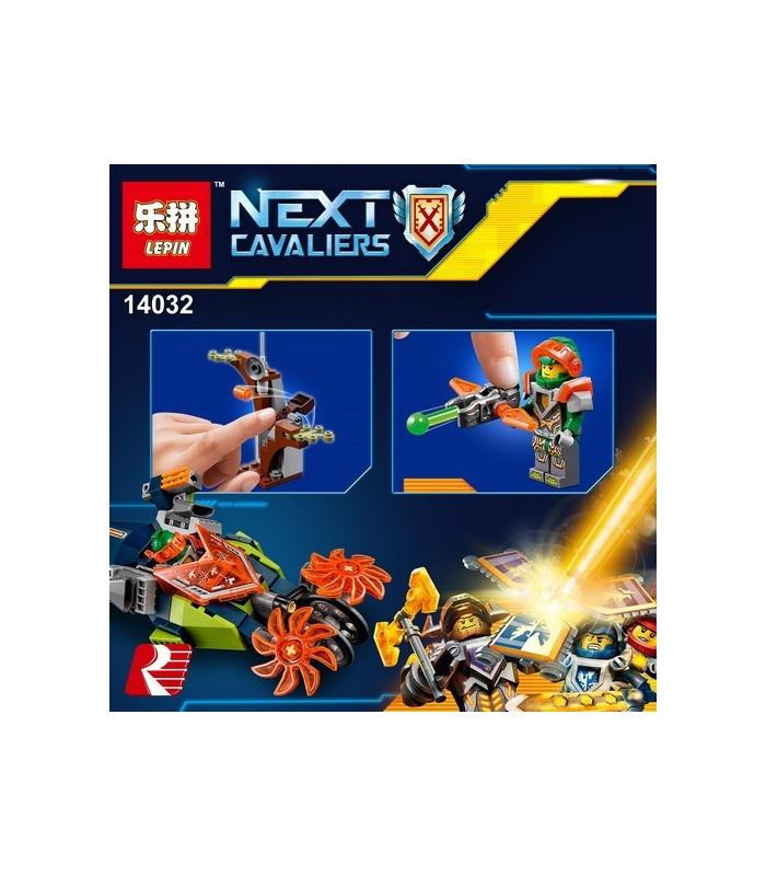 LEPIN 14032 Nexo Knights Aaron's Stone Destroyer Building Bricks Set