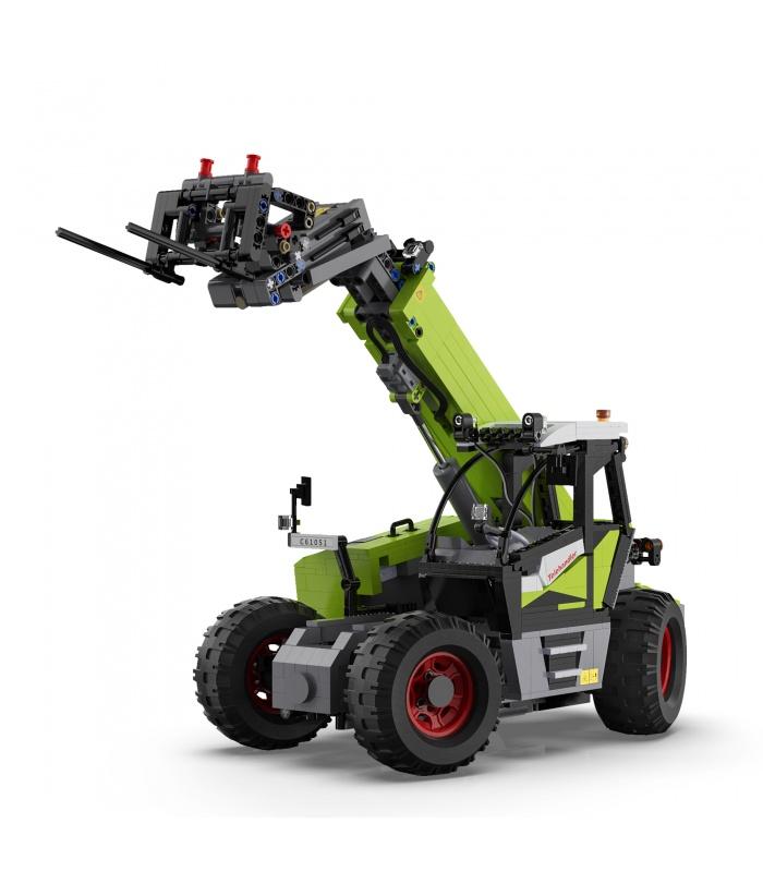 CaDA C61051 Multi-function Loader Remote Control Building Blocks Toy Set