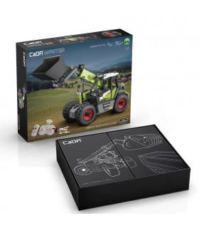 CaDA C61051 Multi-function Loader Remote Control Building Blocks Toy Set