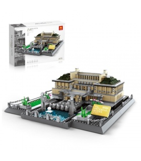 WANGE Architecture Tokyo Hotel Model 5226 Building Blocks Toy Set