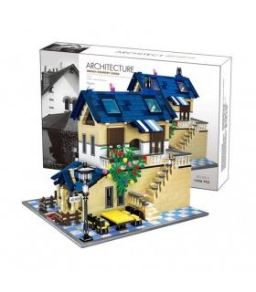 WANGE Architektur Die ländliche Villa 5311 Bausteine Toy Set