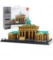 WANGE Street View Famous Brandenburg Gate Model 6211 Building Blocks Toy Set