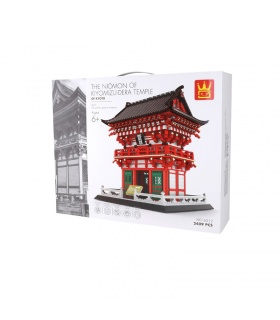 WANGE Kiyomizu Temple Model 6212 Building Blocks Toy Set