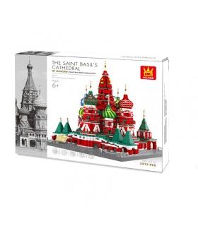 WANGE The Saint Basils Cathedral Model 6213 Building Blocks Toy Set