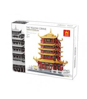WANGE China Wuhan Yellow Crane Tower 6214 Building Blocks Toy Set