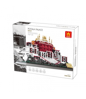 WANGE Tibet Potala Palace Model 6217 Building Blocks Toy Set