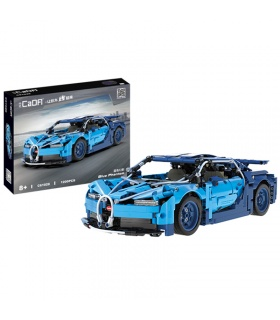 CaDA C61028 Blue Phantom High-tech Famous Racing Car Building Blocks Toy Set