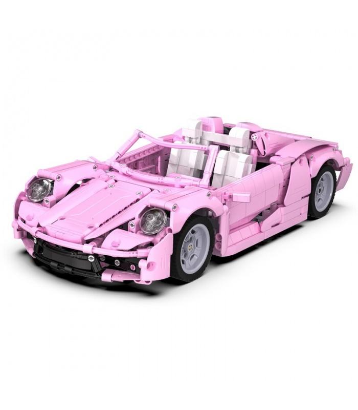 CaDA C61029 Pink Holiday High-tech Famous Racing Building Block Toy Set