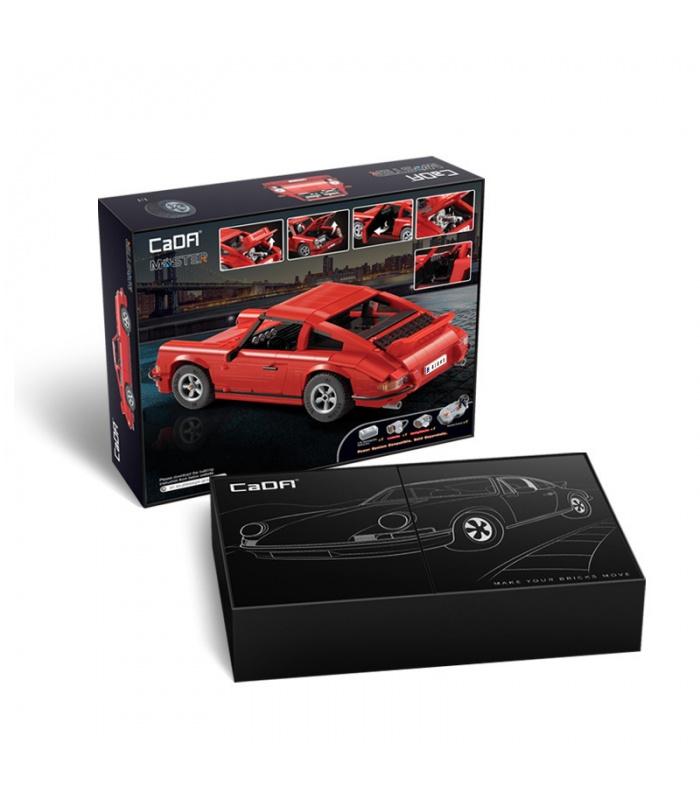 CaDA C61045W Retro Classic Sports Car Motor Edition Building Blocks Toy Set