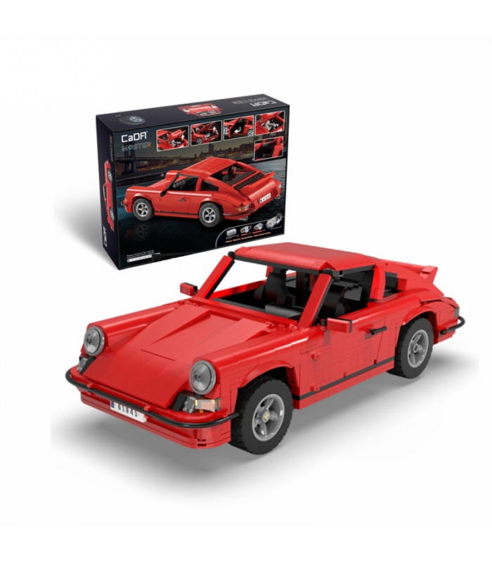 CaDA C61045 Retro Classic Sports Car Building Blocks Toy Set