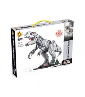PANLOS 611002 Dinosaur World's Best Predator Tyrannosaurus Building Blocks Toy Set