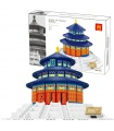 WANGE The Temple Of Heaven Of Beijing  5222 Building Blocks Toy Set