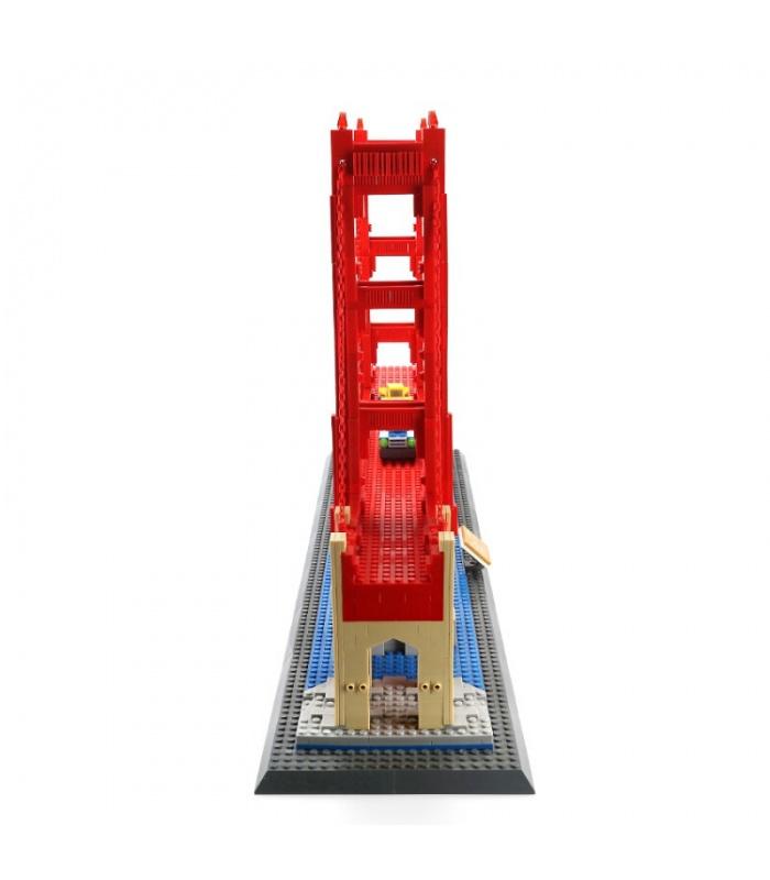 WANGE The Golden Gate Bridge of San Francisco Model 6210 Building Blocks Toy Set