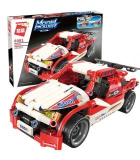 ENLIGHTEN 6001 Red Shadow Run Wolf Building Blocks Toy Set
