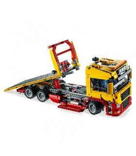 Custom Technology Flatbed Truck Building Bricks Toy Set 1115 Pieces