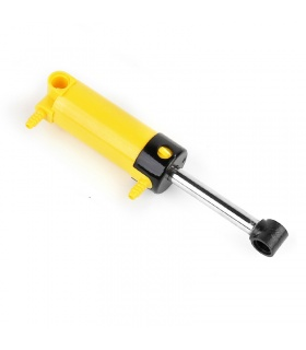 Mould King M00014 Pneumatic Cylinder Yellow with 2 Inlets