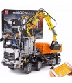 MOULD KING 19007 High-Tech Arocs Pneumatic Truck Remote Control Building Blocks Toy Set