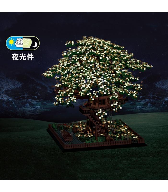 MORK 031004 Tree House Creative Series Model Building Bricks Toy Set