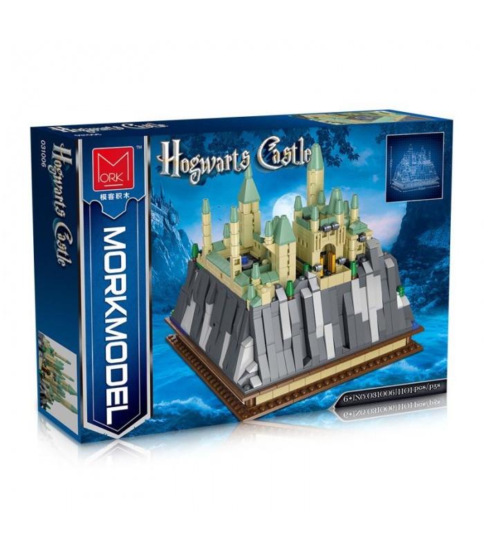 MORK 031006 Mini Hogwarts Castle Villa Creative Series Model Building Bricks Toy Set