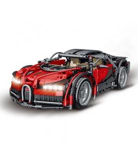 MORK 023001-2 Technologie Red Super Car 1:14 Modellbausteine Spielzeugset