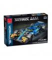 MORK 023007 Blue F1 C36 Super Racing Car Model Building Bricks Toy Set