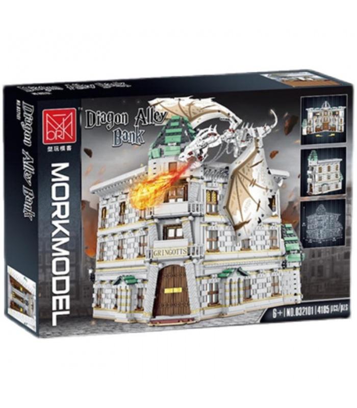 MORK 032101 Gringotts Bank Ukranian Ironbelly Dragon Diagon Alley Model Building Bricks