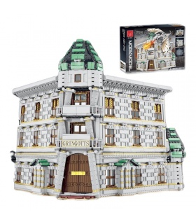 MORK 032101 Diagon Alley Bank Model Building Bricks Toy Set