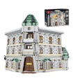 MORK 032101 Gringotts Bank Ukranian Ironbelly Dragon Diagon Alley Model Building Bricks Toy Set