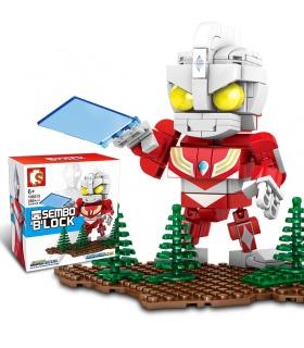 SEMBO 108515 Cosmic Hero Ultraman Series Tiga Ultraman Building Blocks Toy Set