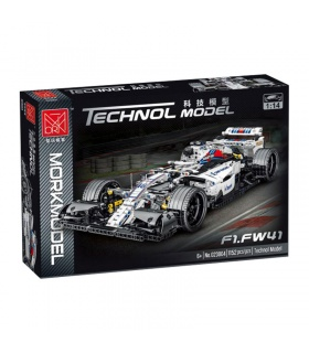 MORK 023004 Formula One Williams F1 FW410 Sports Car Model Building Bricks Toy Set