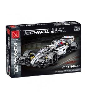 MORK 023004 White Williams FW410 Sports Car Model Building Bricks Toy Set