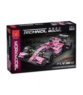 MORK 023009 F1 VJM10 Pink Force India Sportwagen Modellbau Ziegel Spielzeugset