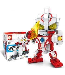 SEMBO 108592 Ultraman Serie Mambius Ultraman Space Hero Bausteine Spielzeugset