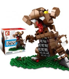 SEMBO 108517 Cosmic Hero Ultraman Series Gomora Building Blocks Toy Set